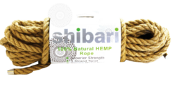 Shibari 100% Natural Hemp Rope