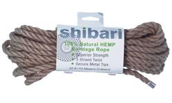 Shibari 100% Natural Hemp Rope